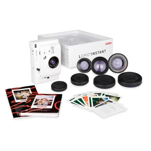 Lomo'Instant - White Edition + Lens Kit