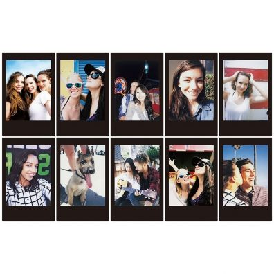 Fujifilm Instax Mini Film Black Frame / (1x10)