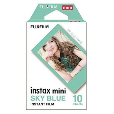 Fujifilm Instax Mini Film Sky Blue / (1x10)