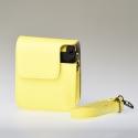 Leather Bag Instax Mini 70 - Yellow