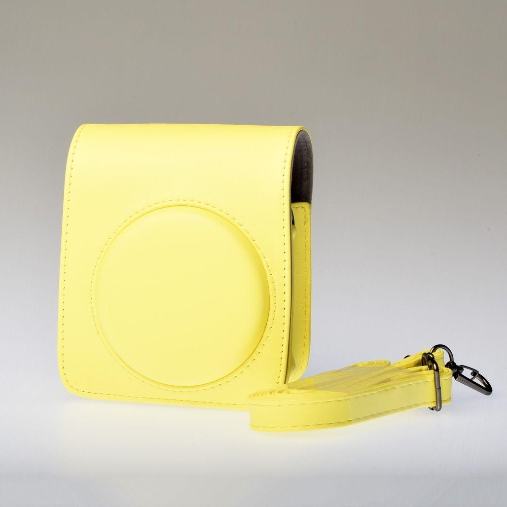 Leren Draagtas Instax Mini 70 - Geel
