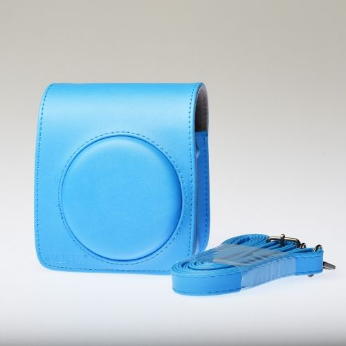 Leather Bag Instax Mini 70 - Blue