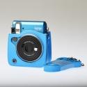 Leather Bag Instax Mini 70 - Blue
