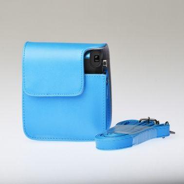Leren Draagtas Instax Mini 70 - Blauw