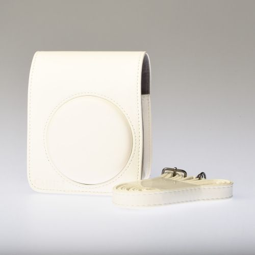 Leather Bag Instax Mini 70 - White