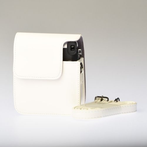 Leather Bag Instax Mini 70 - White