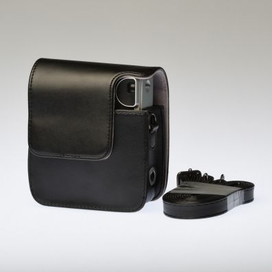 Leather Bag Instax Mini 90 - Black