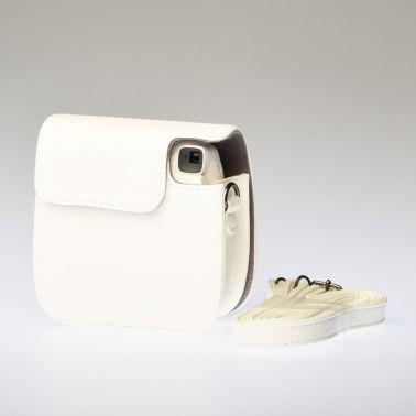 Leather Bag Instax Mini 8 - White