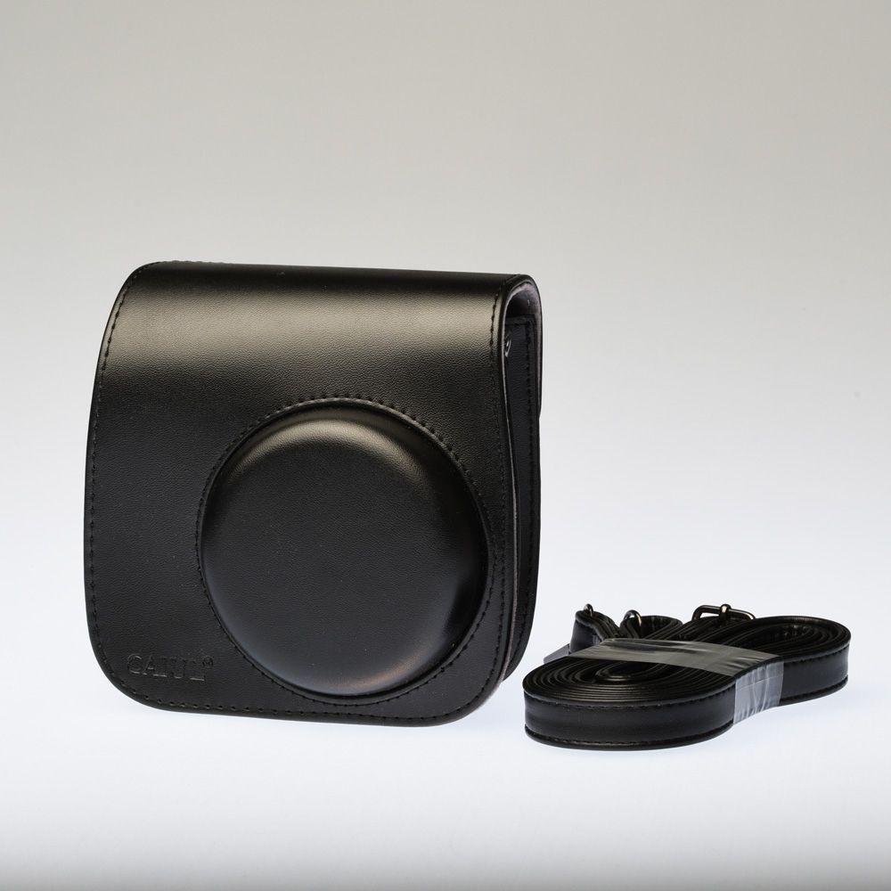 Leather Bag Instax Mini 8 - Black
