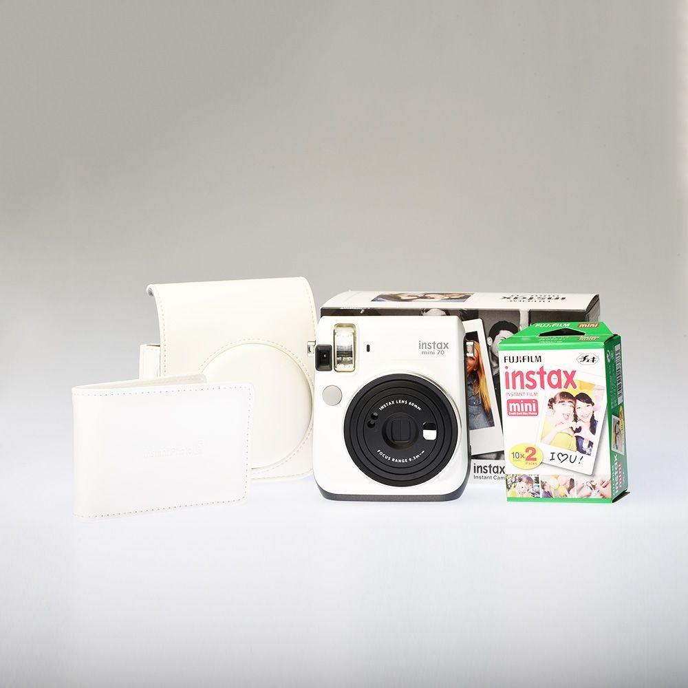 Instax Mini 7 - Moon White