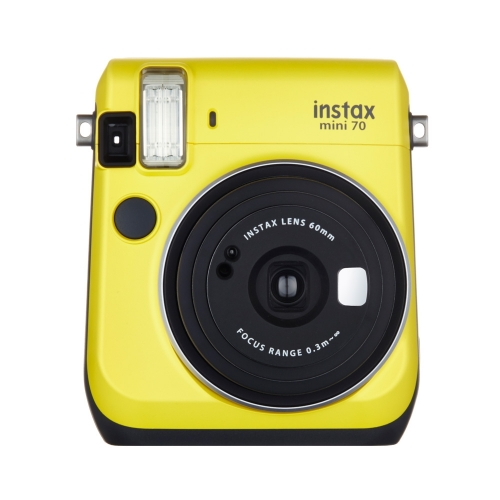 Instax Mini 70 - Canary Yellow / Enthusiast Kit