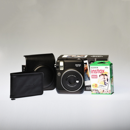 Instax Mini 70 - Midnight Black / Enthusiast Kit