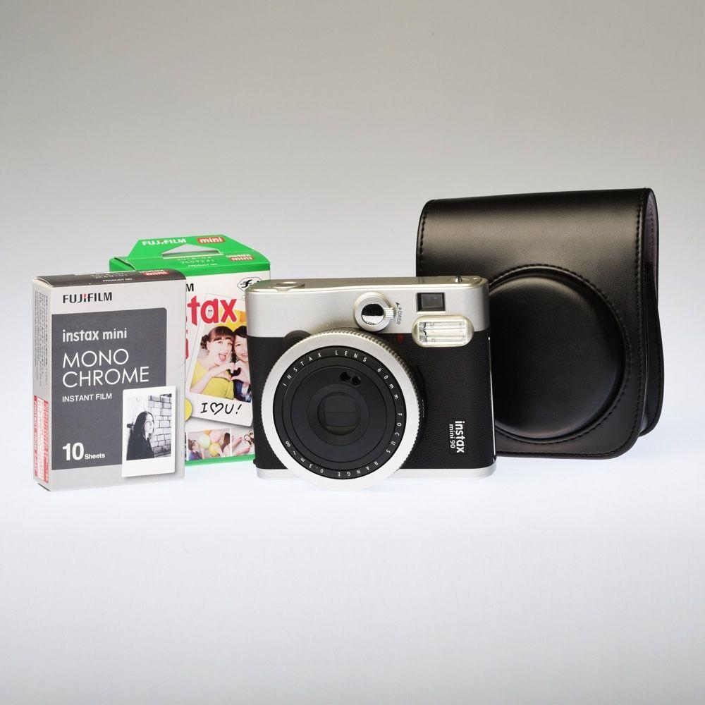 Fujifilm Instax 90 Zwart - Premium Kit