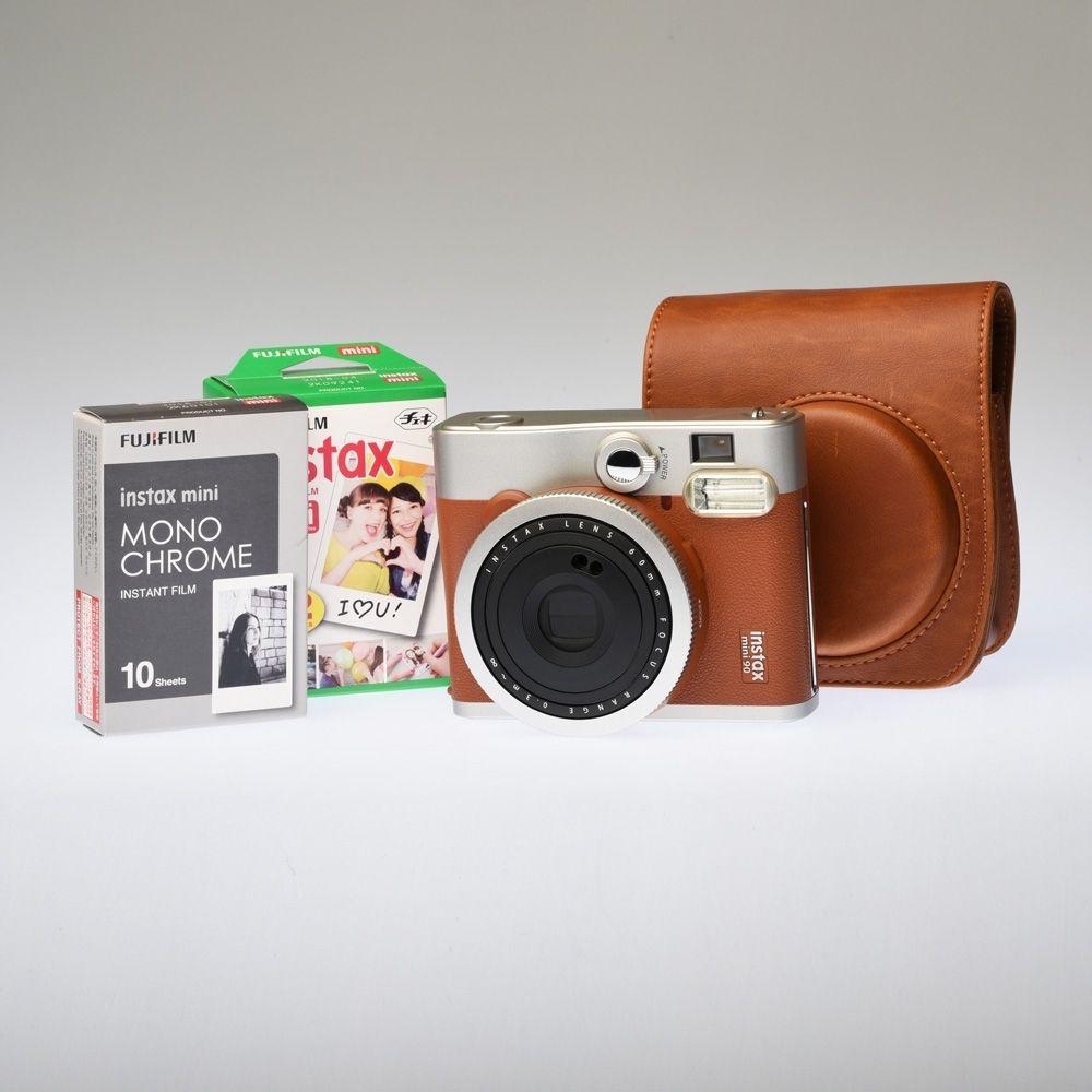 Fujifilm Instax 90 - Brown / Premium Kit