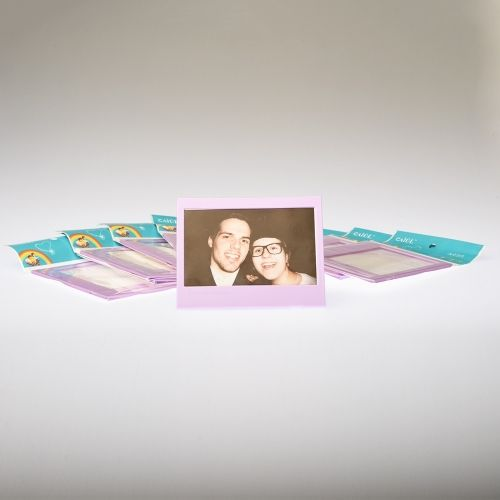 Fotokader Instax Wide - Purple (10 pcs)