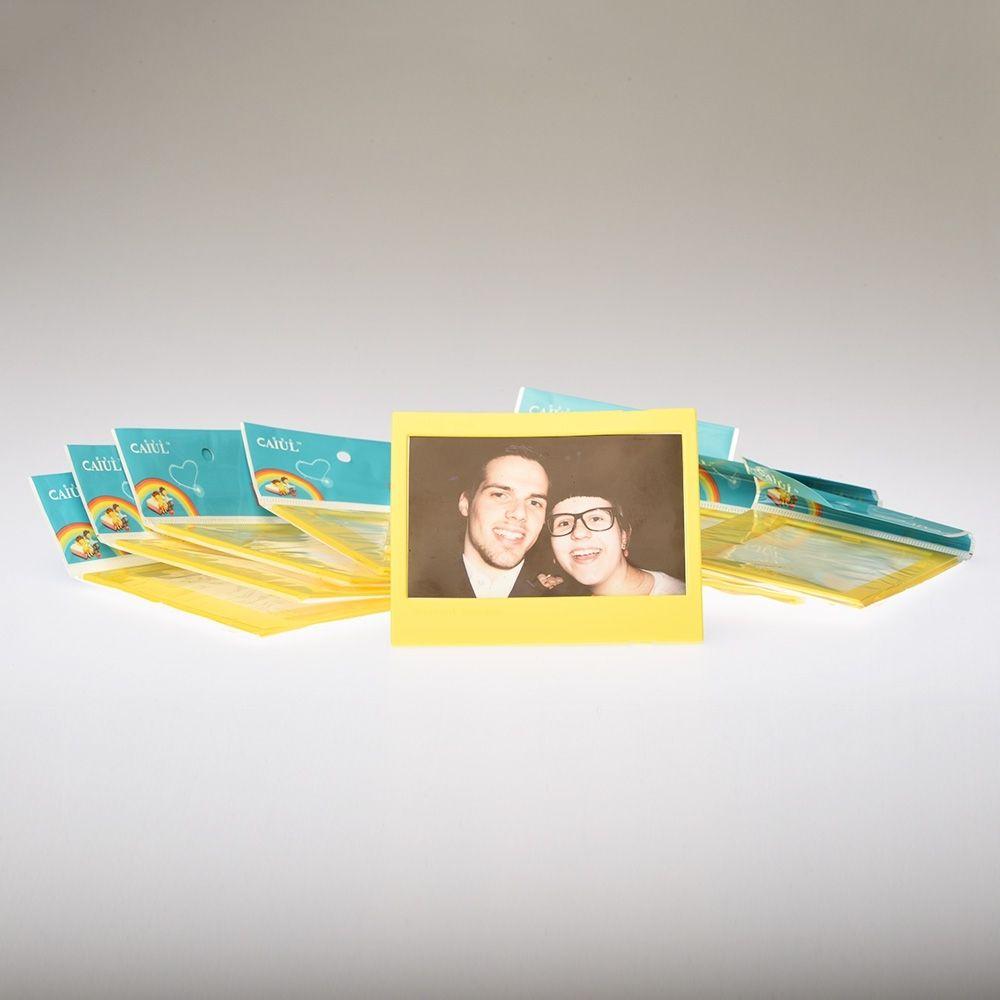 Fotokader Instax Wide - Geel (10 stuks)
