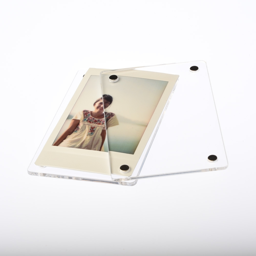 Magnetic Photo Frame Instax Mini Single - Plexi