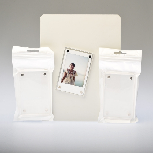 Magnetisch Fotokader Instax Mini Single - Plexi / 3-pak