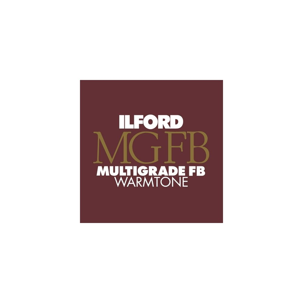 Ilford Photo 17,8x24 cm - SEMI-MAT - 100 FEUILLES - Multigrade Fiber Warmtone HAR1884227
