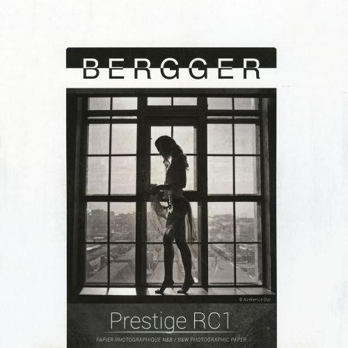 Bergger 17,8x24 cm - LUSTER - 100 SHEETS - Prestige RC1 PRC1L-1824100