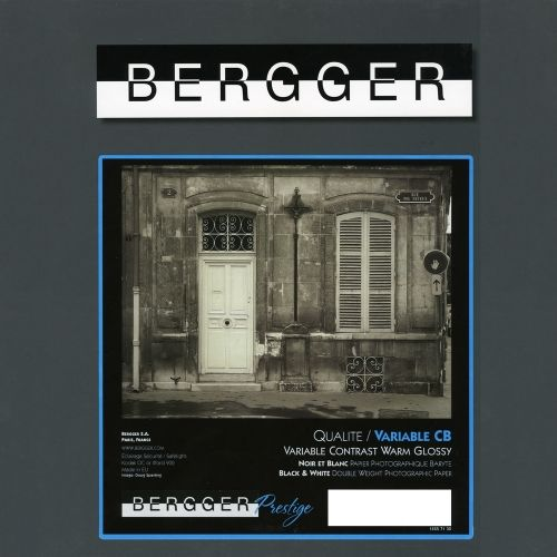 Bergger 20,3x25,4 cm - GLOSSY - 25 SHEETS - Prestige Variable CB VCCB-81025