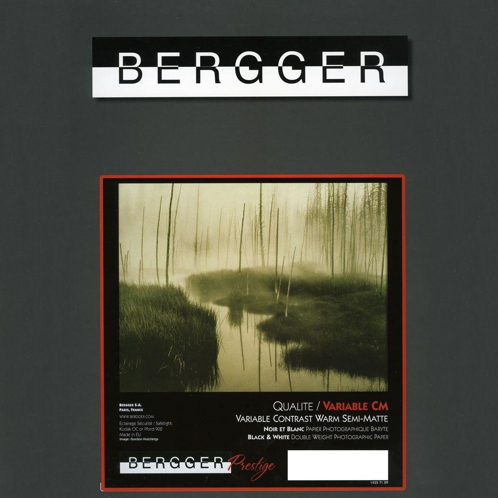 Bergger 20,3x25,4 cm - SEMI-MAT - 25 FEUILLES - Prestige Variable CM VCCM-81025