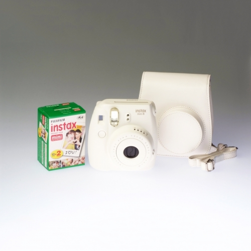 Fujifilm Instax Mini 8 White - PREMIUM KIT
