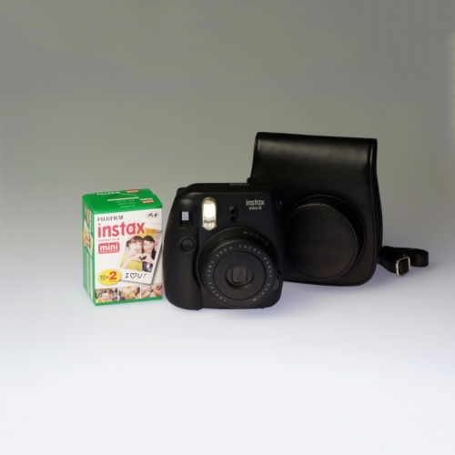 Fujifilm Instax Mini 8 Black - PREMIUM KIT
