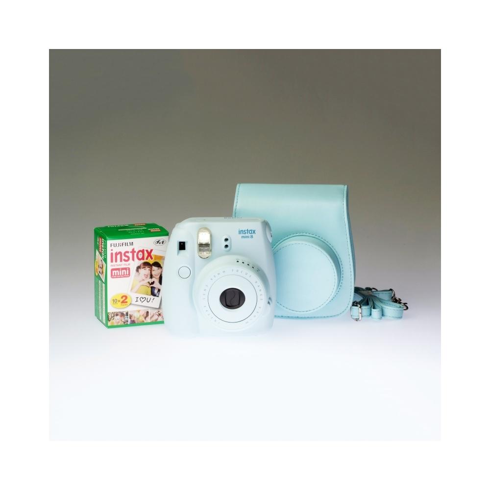Fujifilm Instax Mini 8 Blue - PREMIUM KIT