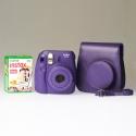 Fujifilm Instax Mini 8 Grape - PREMIUM KIT