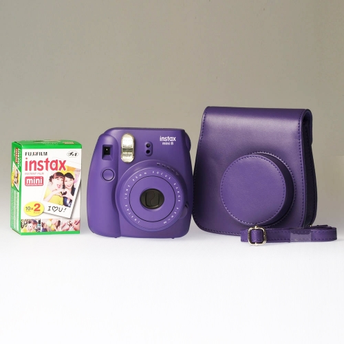 Fujifilm Instax Mini 8 Grape - PREMIUM KIT