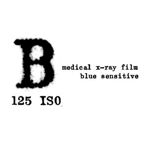 Washi Film B 125 4x5 INCH / 12 sheets