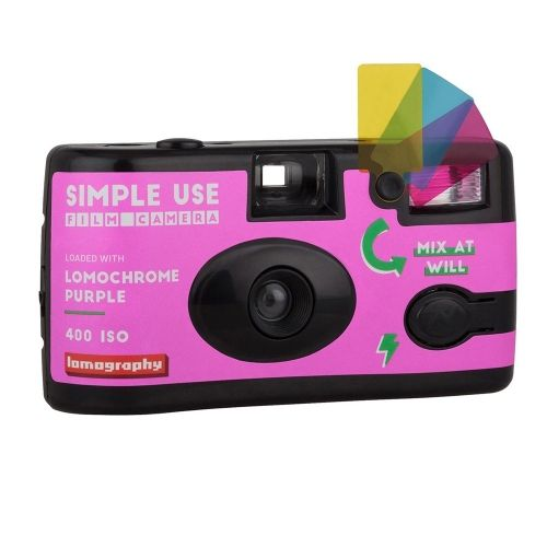 Lomo Single Use Camera Purple / 36 exposures