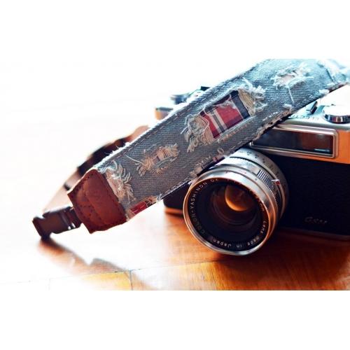 "iMo Camerariem ""Checked Denim"" - neopreen"