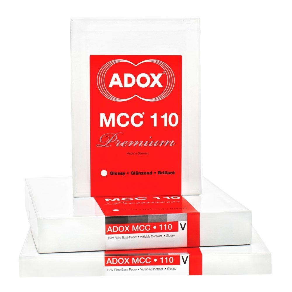 Adox 12,7x17,8 cm - BRILLANT - 100 FEUILLES - MCC 110