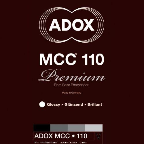 Adox 30,5x40,6 cm - BRILLANT - 25 FEUILLES - MCC 110