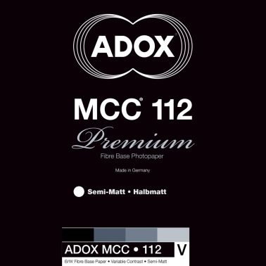 Adox 50,8x61 cm - SEMI-MAT - 25 FEUILLES - MCC 112