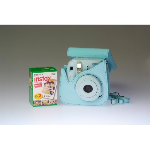 Fujifilm Instax Mini 8 Blue - PREMIUM KIT