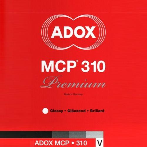 Adox 12,7x17,8 cm - BRILLANT - 100 FEUILLES - MCP 310 35660