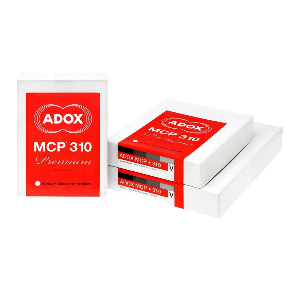Adox 30,5x40,6 cm - BRILLANT - 25 FEUILLES - MCP 310 35685