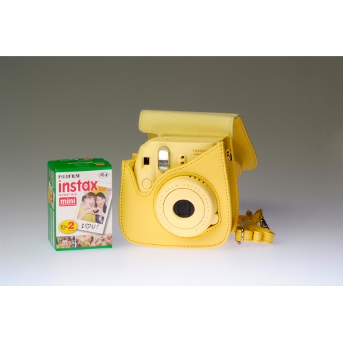 Fujifilm Instax Mini 8 Yellow - PREMIUM KIT