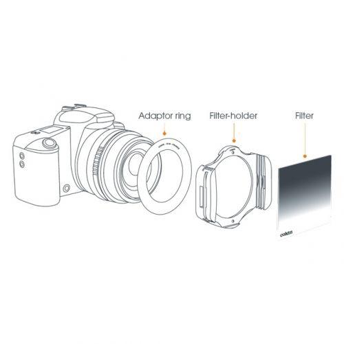 Cokin Adapter Ring Z-Pro Ø72mm