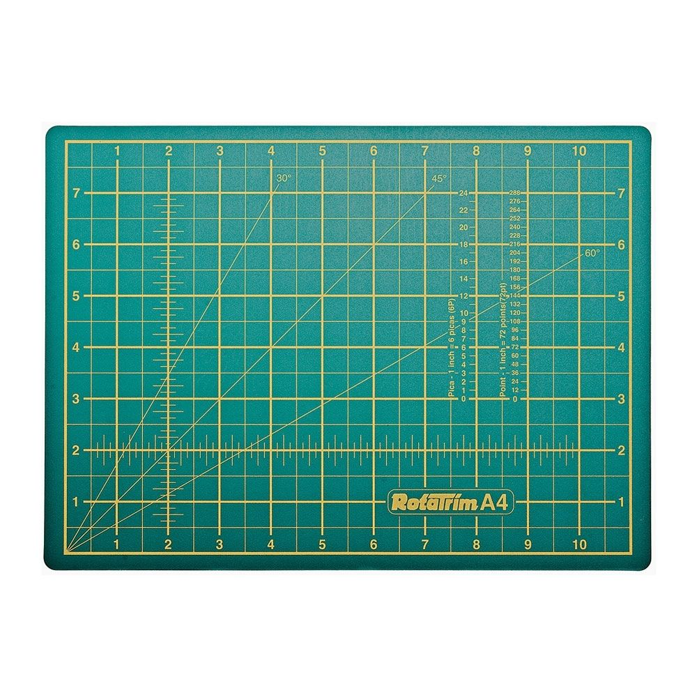Rotatrim Self Healing Cutting Mat A4 220x300mm