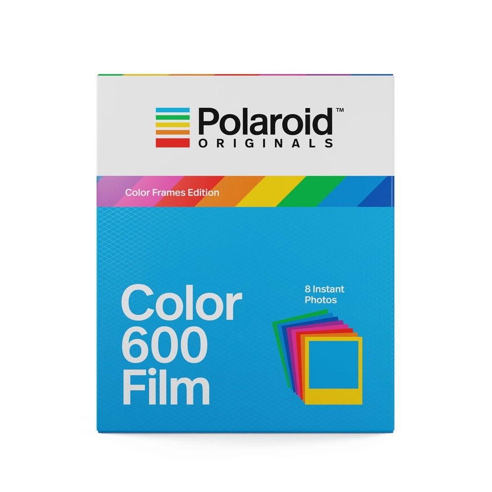 Polaroid 600 Color Instant Film - Color Frames