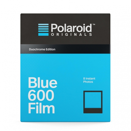Polaroid 600 Blue Duochrome Instant Film