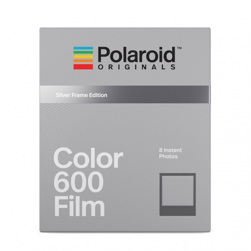 Polaroid 600 Color Instant Film - Silver Frames