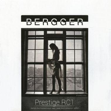 Bergger 12,7x17,8 cm - LUSTRE - 100 FEUILLES - Prestige RC1 PRC1L-1318100
