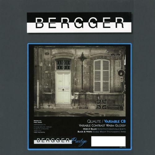 Bergger 24x30,5 cm - GLOSSY - 25 SHEETS - Prestige Variable CB VCCB-243025