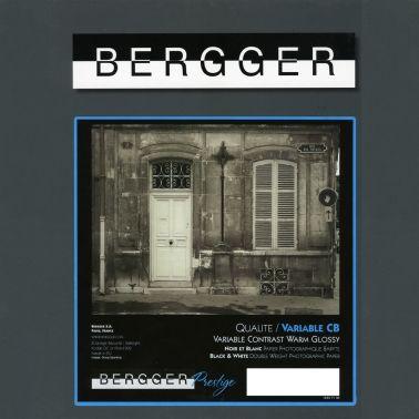 Bergger 40,6x50,8 cm - GLOSSY - 25 SHEETS - Prestige Variable CB VCCB-405025