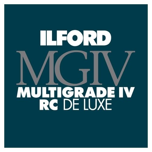 Ilford Photo 20,3x25,4 cm - BRILLANT - 250 FEUILLES - Multigrade IV RC Deluxe HAR1770395